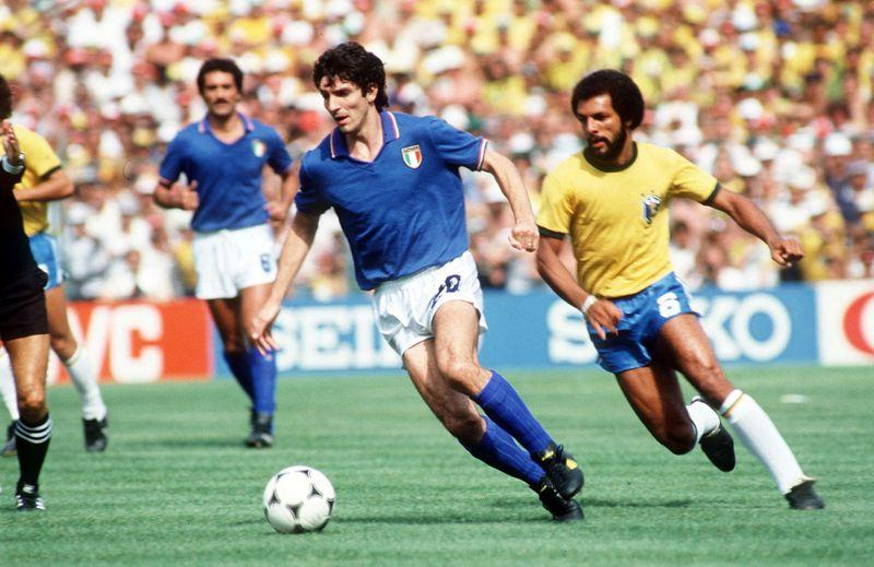 Soccer-Italy's World Cup hero Rossi dies aged 64