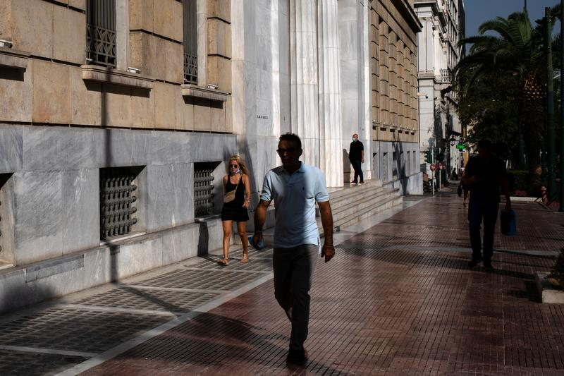 Greek economy to contract 11% percent in 2020-CenBank