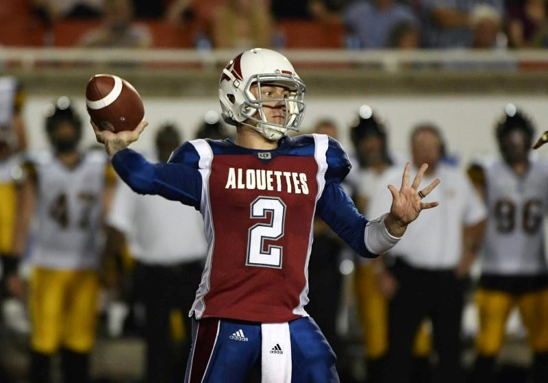Here's Johnny - Manziel to resume playing career at startup league - Reuters