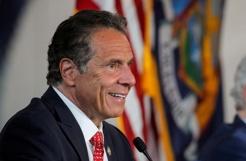New York governor boosts sports betting, cannabis to help pandemic-battered economy