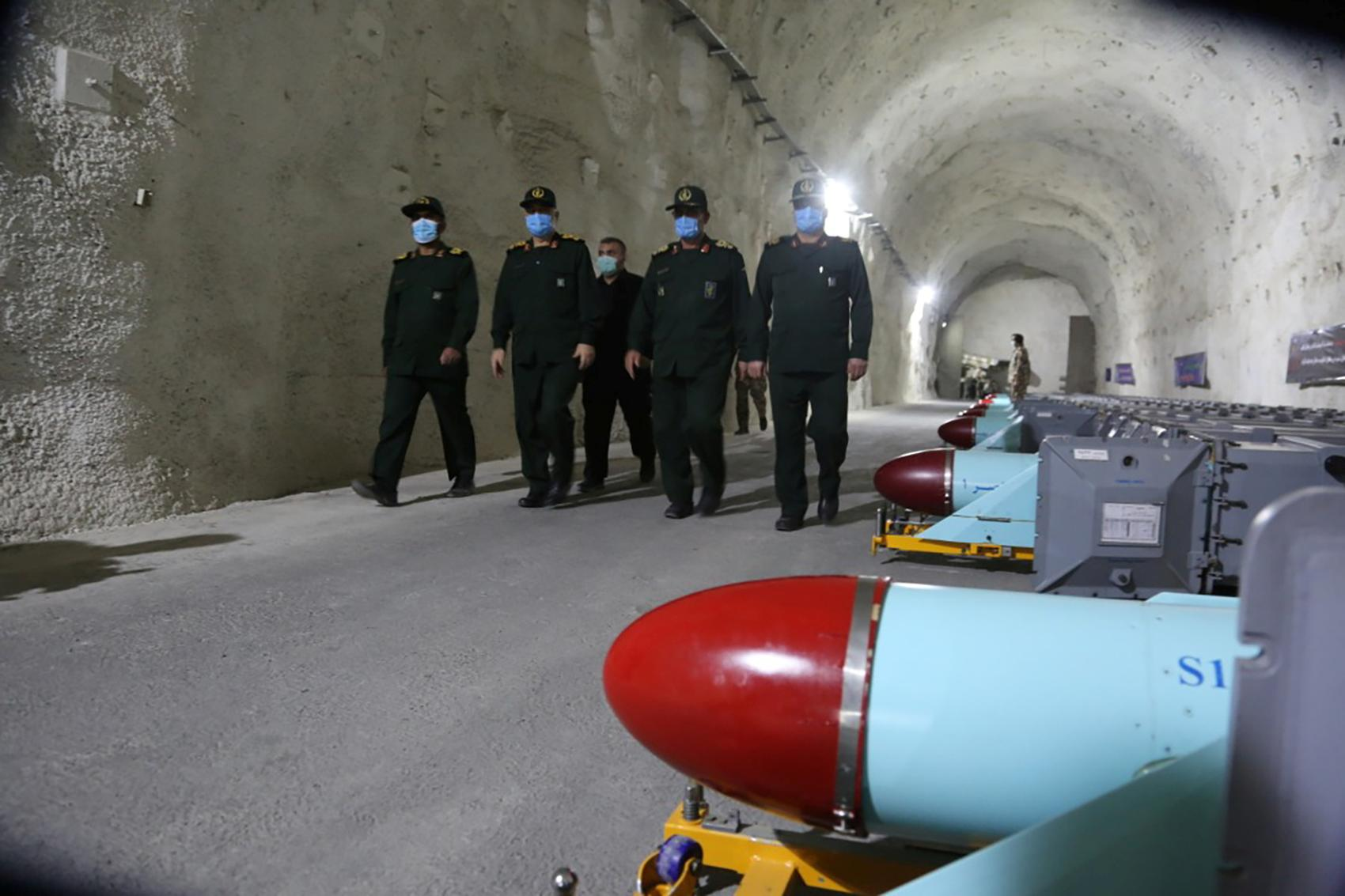 Iran Defence News | Iran's Revolutionary Guards unveil underground missile base in Gulf