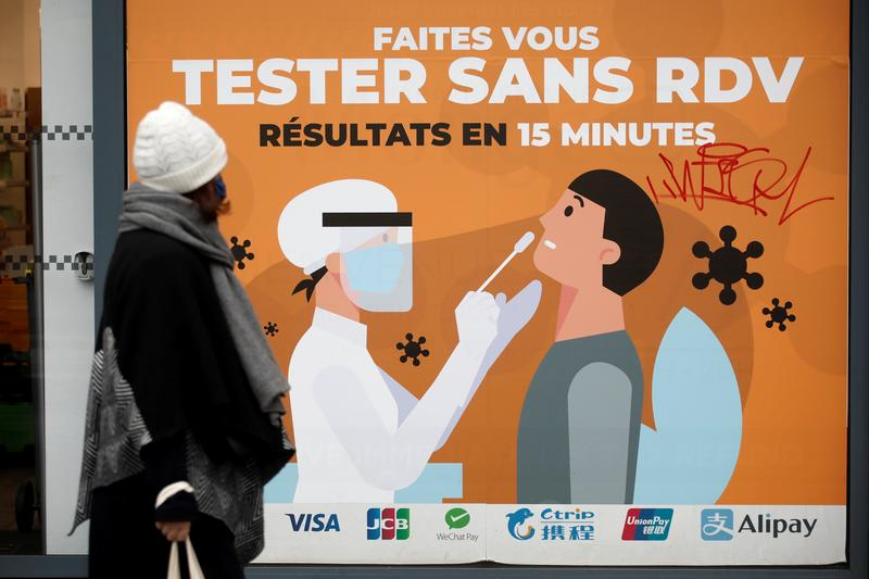 France moves up start of coronavirus curfew to 6 p.m. from 8 p.m