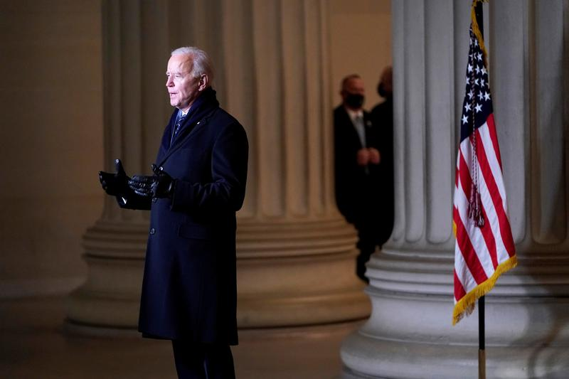 Biden White House pledges data, transparency, respect for free press - Reuters