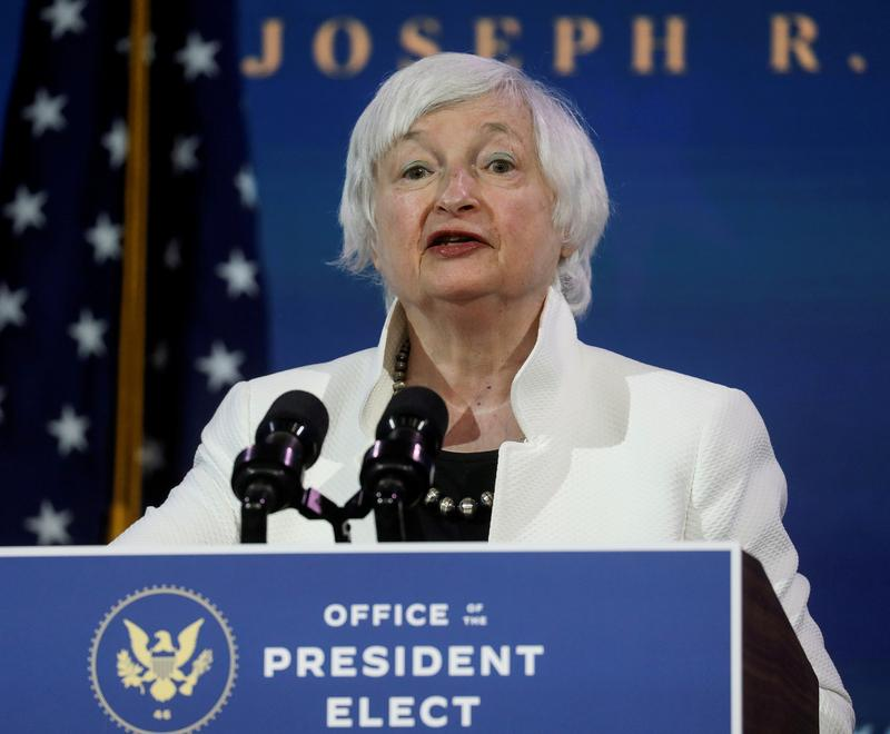Senate panel to meet on Yellen nomination for Treasury on Friday - Reuters