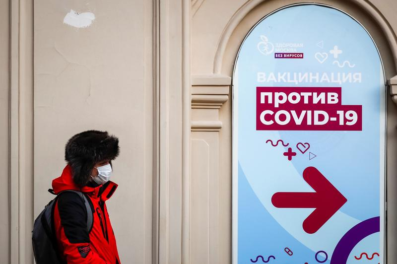 Russia reports 21,887 new coronavirus cases, 612 deaths - Reuters