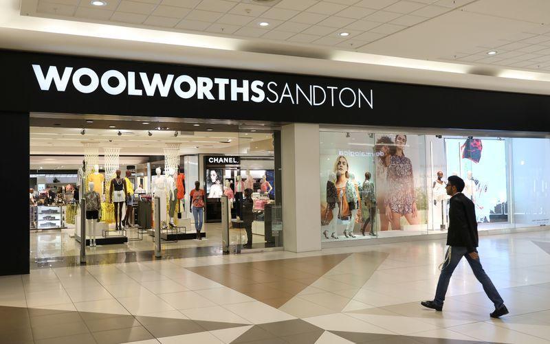 S.Africa's Woolworths expects first-half profit to soar as retail demand improves - Reuters