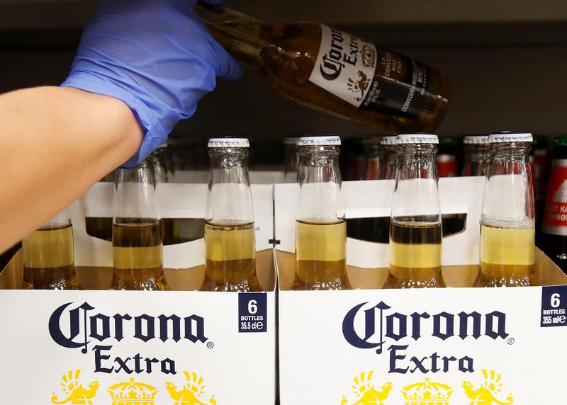 AB InBev takes Constellation to U.S. court over Corona brand name