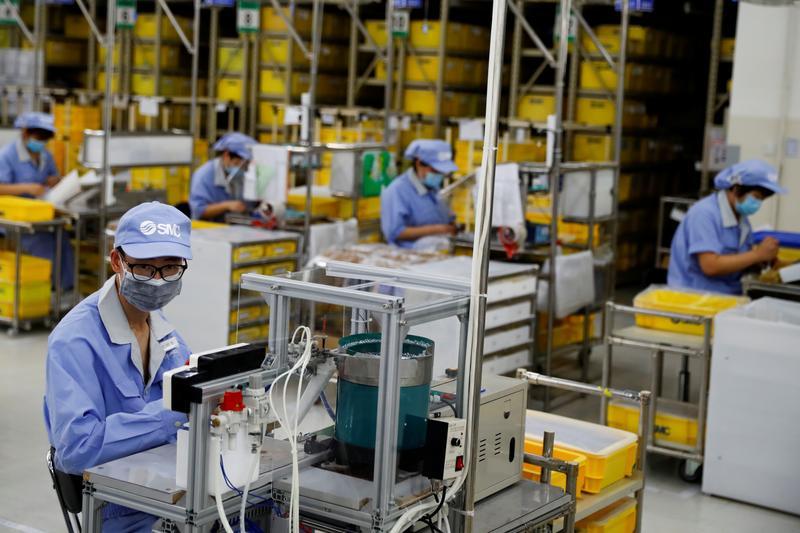 中国製造業PMI、2月は50.6に低下 昨年5月来の低水準