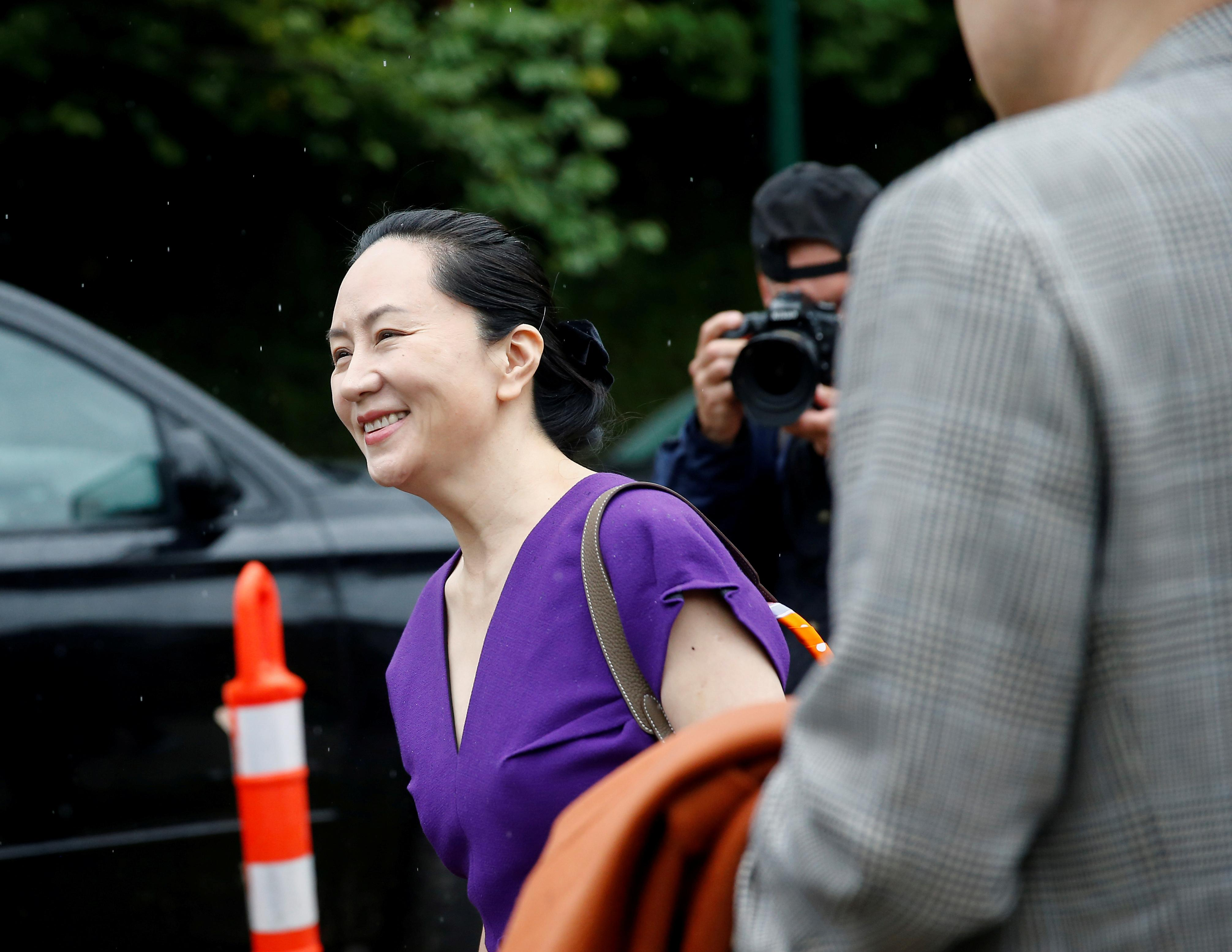 Huawei CFO back in court fighting U.S. extradition