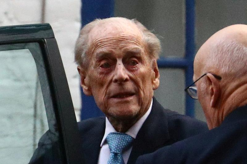 UK's Prince Philip, 99, moves hospital for heart tests