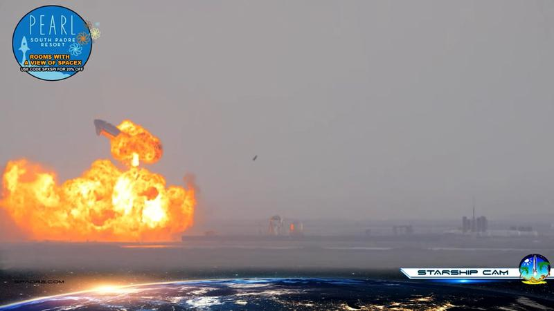 SpaceX Starship rocket prototype nails landing… then blows up – Reuters