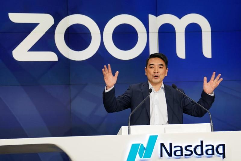 Zoom founder Eric Yuan transfers stock worth over $6 billion - Reuters