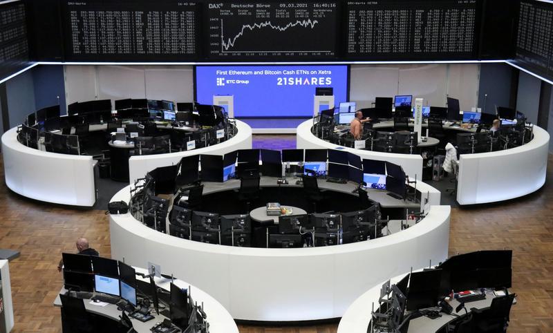 Defensive sectors, Adidas lift European stocks; cyclicals fall
