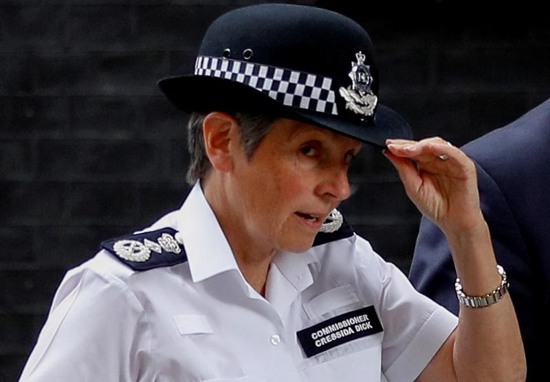 London Police Chief Defends her Officers Over Action to Disperse Mourners
