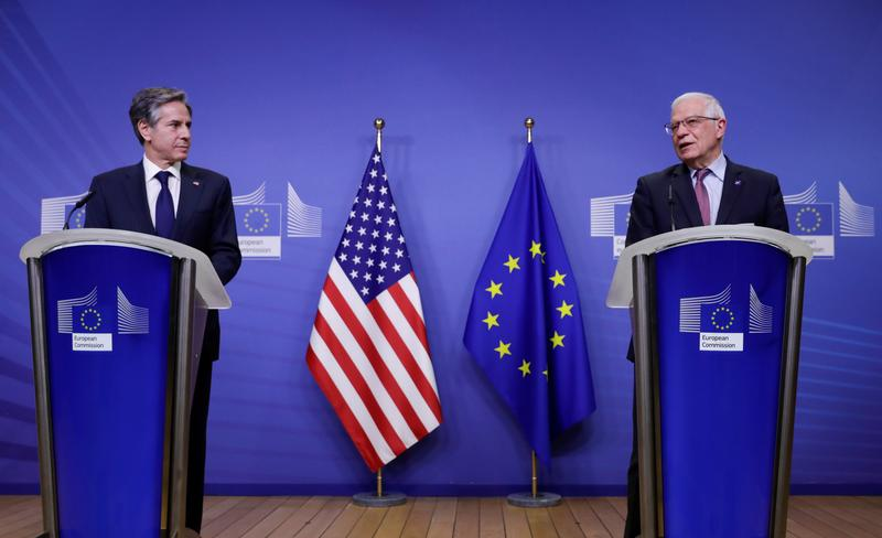 U.S., EU to cooperate on China dialogue, Russia challenge- statement