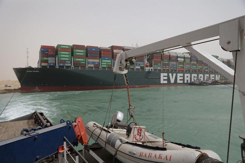 Suez ship congestion could delay 10 LNG deliveries to Europe, analysts say