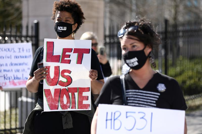 Civil Rights Groups Sue Georgia Over New Voting Limits