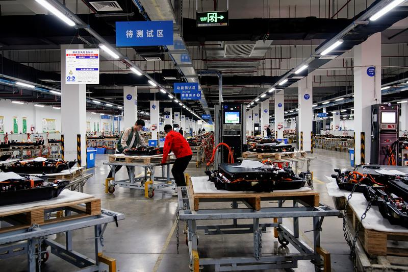 China EV battery maker Octillion looks to cash in on carbon neutral drive