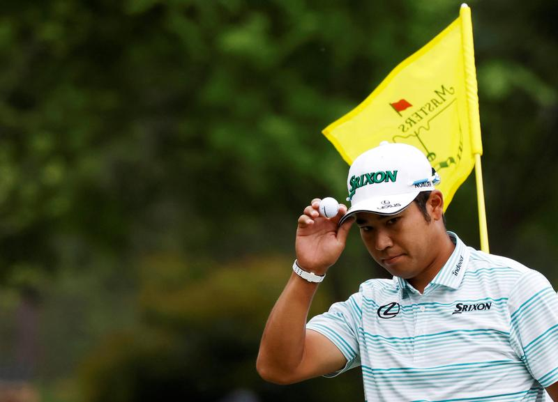 Golf-Small Japanese media contingent a blessing for Matsuyama - Reuters