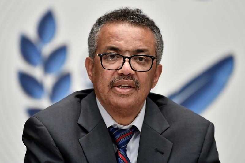 Coronavirus pandemic 'a long way from over', WHO's Tedros says