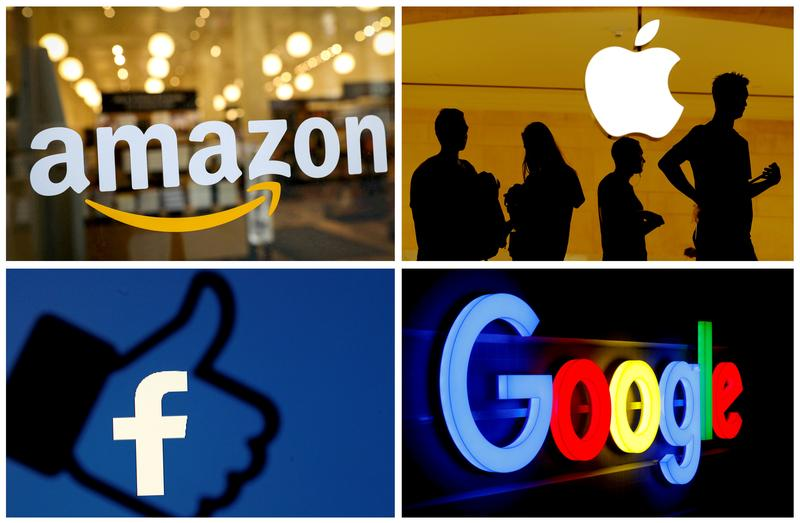 House Judiciary Committee votes to approve a 400-page report accusing Big Tech of buying and crushing smaller rivals, paving the way for future legislation (Diane Bartz/Reuters)
