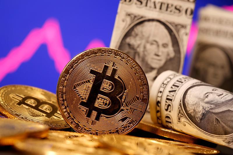 Bitcoin falls 7.7% to $55,408 - Reuters