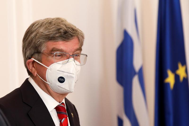 緊急事態宣言は「東京五輪と無関係」=IOC会長