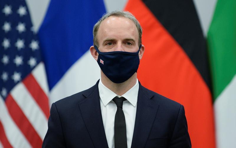 ロシアの「プロパガンダ」への対応、G7で仕組み検討へ=英外相
