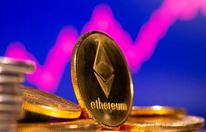 Ethereum breaks past $3,000 to quadruple in value in 2021