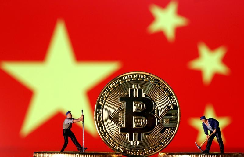 アングル:中国の暗号資産業界に動揺なし、禁止措置の実効性弱く