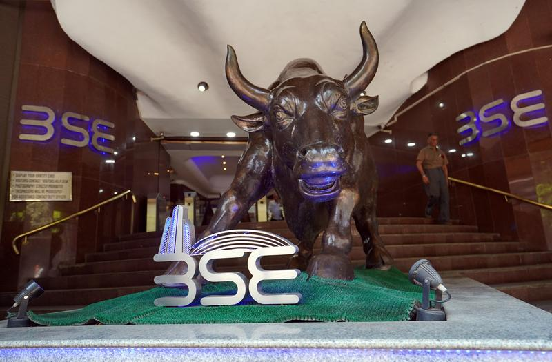 Indian shares at record highs as COVID-19 curbs ease, cases fall