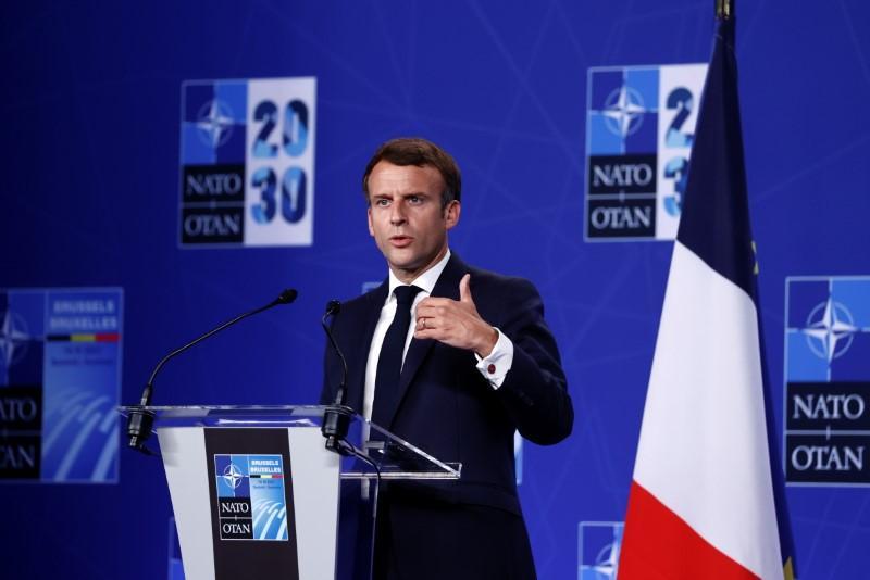 Macron bemoans nonsense innovation, takes aim at Chinese and U.S. tech bonanza
