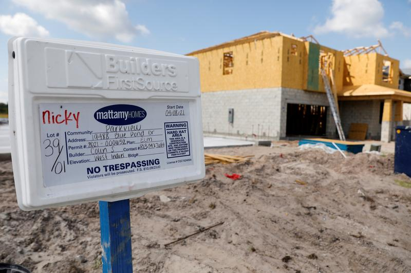 U.S. new home sales hit one-year low; prices soar
