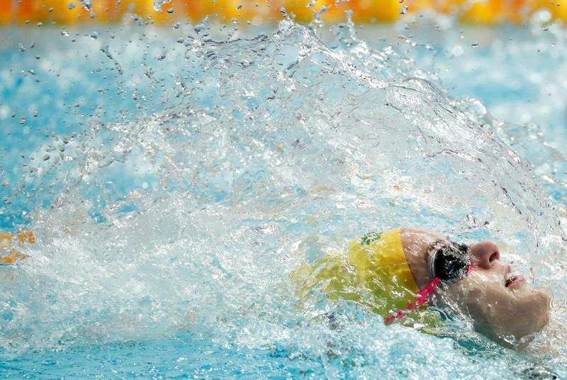 Olympics-Swimming-Australia's top-ranked McKeown to ...