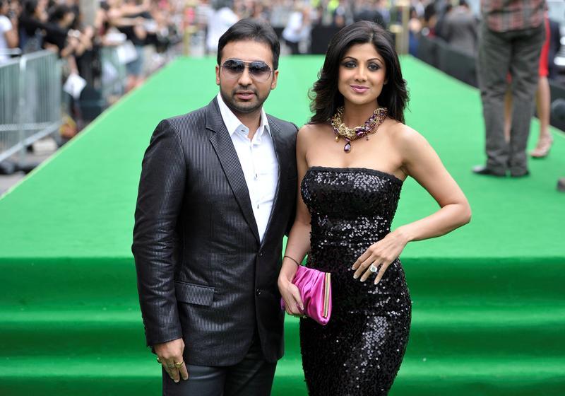 Indian court extends custody of businessman in porn film case.jpg