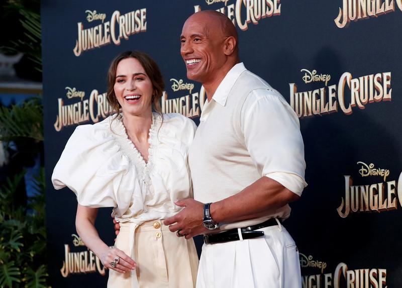 'Jungle Cruise' movie pairs spirited heroine with pun-slinging skipper.jpg