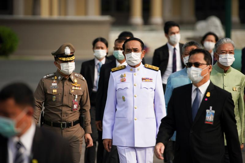 Thai PM faces parliamentary grilling as protests persist - Reuters.com