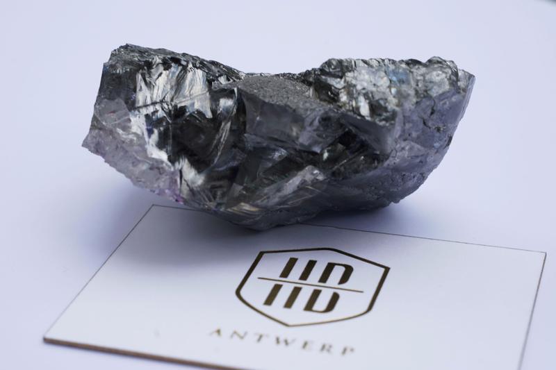 Massive uncut diamond unveiled in New York